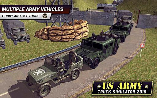 US Army Truck Driving 2021: Real Military Truck 3D apktram screenshots 4