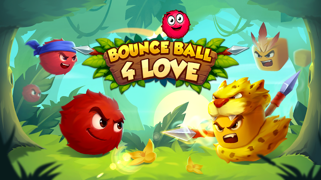 Bounce Ball 4 Love and Red Roller Ball 3