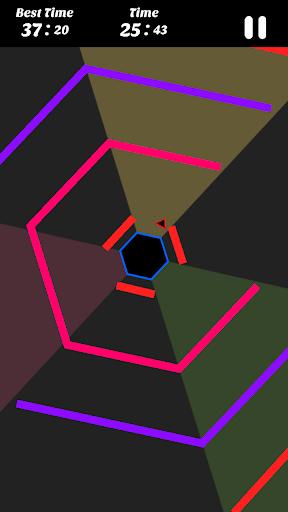Hexagon - super hexagon, polygon 1.12 screenshots 3