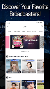 SHOWROOM-video live streaming Mod 5.0.8.3 Apk (No Ads/Unlimited Streaming) 5