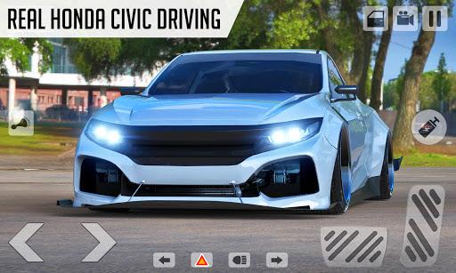 Drifting Car Simulator Civic - Real Car Drifting Apkfinish screenshots 3