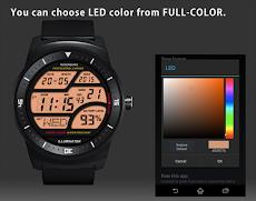 A41 WatchFace for LG G Watch Rのおすすめ画像4