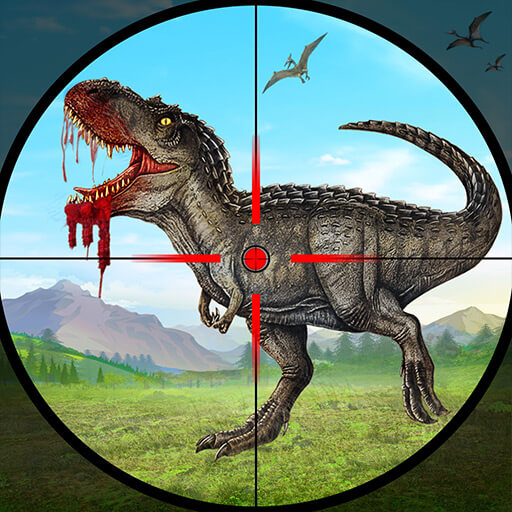 Wild Dinosaur Hunting Covert Sniper Shooting