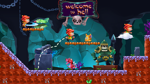 Jungle Bounce - Jump and Run Adventure android2mod screenshots 8