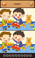 Kids Find the differences  Puzzle - child game