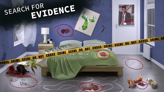 Criminal Stories: Detective games with choices Screenshot