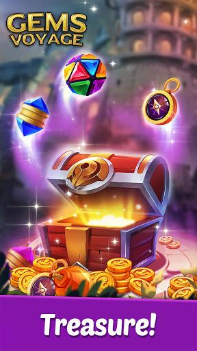 Gems Voyage - Match 3 & Jewel Blast 1.0.20 screenshots 10