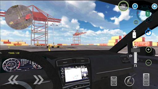 Golf GT Drift Simulator  screenshots 1