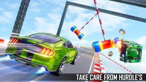 Mega Ramp Car Stunts 3D: Ramp Stunt Car Games screenshots 2