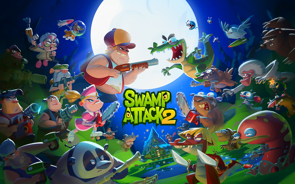 Swamp Attack 2 MOD poster 17