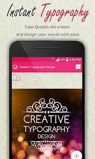 Creative Typography Design 3.9 Screenshots 7