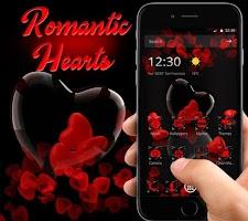 Romantic Cute Red Love Heart Theme