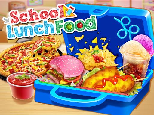 School Lunch Maker! Food Cooking Games 1.8 Screenshots 1