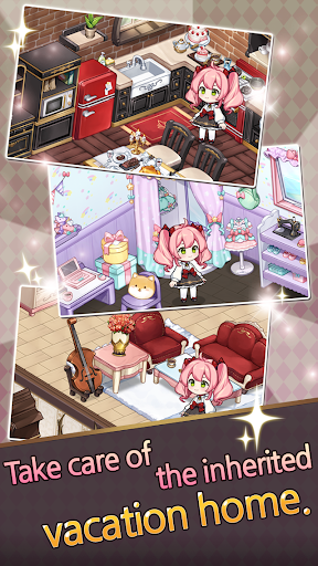 Noble Girl: Decorate a Vacation Home screenshots 2