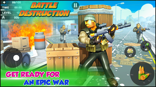 Creative Battle :Firing Destruction Battlegrounds – APK Mod for Android 1