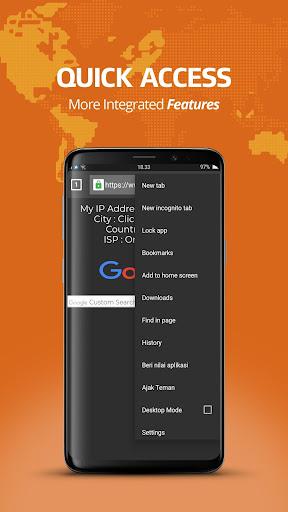 Free Anti Block Browser - Unblock Website  screenshots 3