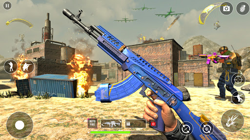 FPS Cover Fire  Game: Offline Shooting Games squad  screenshots 2