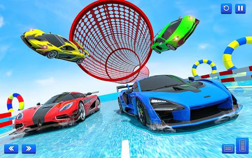 Water Surfing Car Stunt Games: Car Racing Games  screenshots 12