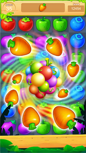 sweet fruits candy screenshot 1