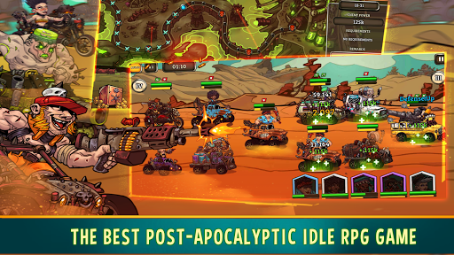 ud83dudd25 Quest 4 Fuel: Arena Idle RPG game auto battles 1.0.0 screenshots 15