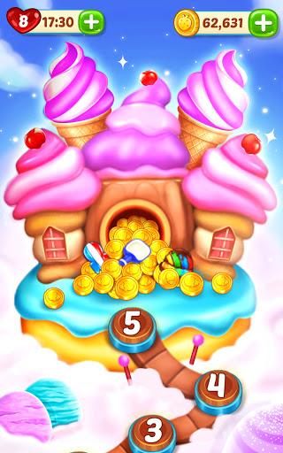 Ice Cream Paradise - Match 3 Puzzle Adventure Apkfinish screenshots 7