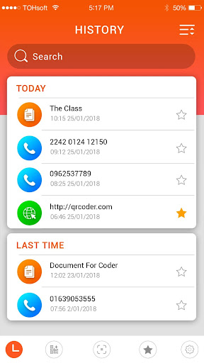 QR code reader 1.15.42 Screenshots 3