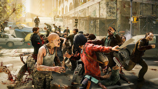 Survival Zombie Games 3D : Free Shooting Games FPS apkslow screenshots 12