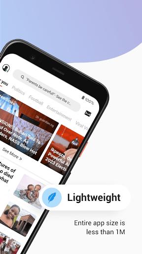 Opera News Lite - Less Data, More News  Screenshots 2