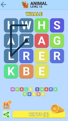 word swipe game - search games puzzle: word stacks screenshot 3