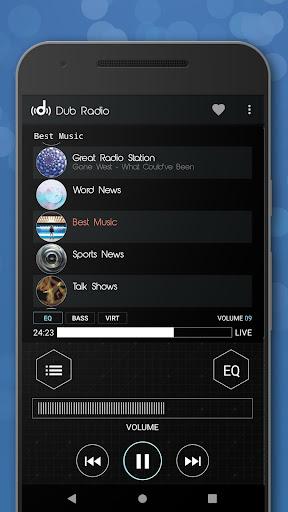 Dub Radio - Online fm radio tuner + equalizer android2mod screenshots 7