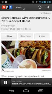 NPR News 2.7.5 APK screenshots 4