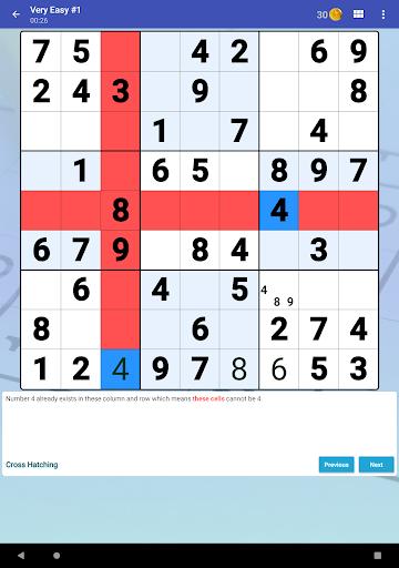 Sudoku Free - Classic Brain Puzzle Game  screenshots 10