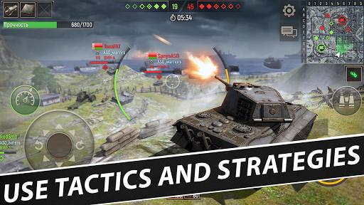Battle Tanks: Game - Free Tank Games Military PVP  screenshots 16