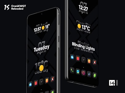 One4KWGT Reloaded – widgets for KWGT (MOD, Paid) v1.8 4