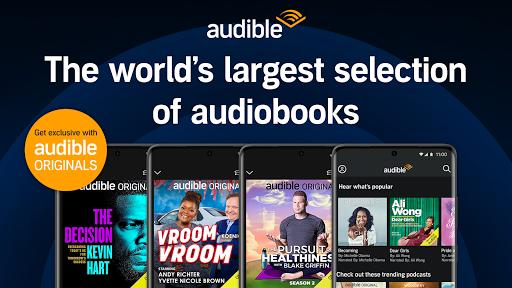 Audible: audiobooks, podcasts & audio stories  screenshots 1