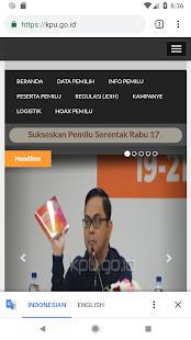 KPU RI PEMILU 2019 screenshots 6