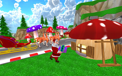 Santa Christmas Infinite Track screenshots 9