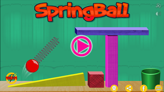 Spring Ball: Bounce game For Pc (Download On Windows 7/8/10/ And Mac) 1