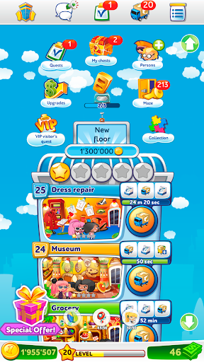 Pocket Tower: Building Game & Megapolis Kings 3.21.7 screenshots 5