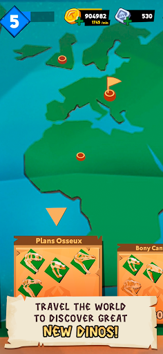 Dino Quest 2: Jurassic bones in 3D Dinosaur World apkpoly screenshots 7