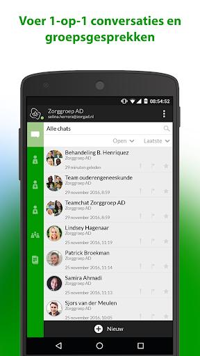 zorg messenger screenshot 1