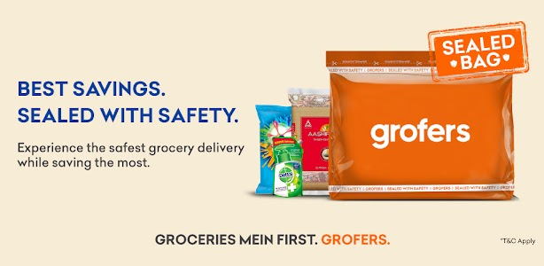 grofers-grocery delivered safely with SuperSavings 6.6.0