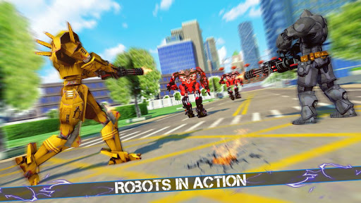 Grand Robot Car Crime Battle Simulator apktram screenshots 11