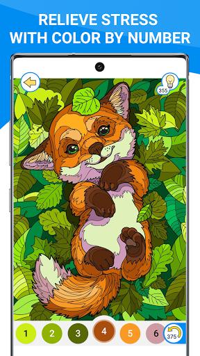 Happy Canvasu2122 - Color by Number Book 2.1.2 screenshots 7
