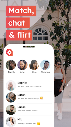 #Dating – Free dating app to match, chat & flirtのおすすめ画像3