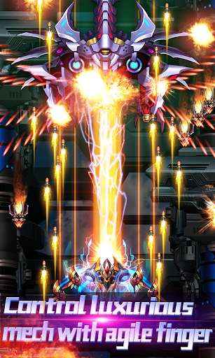 Thunder Assault: Raiden Striker apkdebit screenshots 2