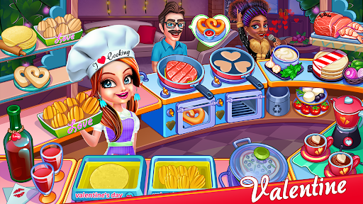 Cooking Express : Food Fever Cooking Chef Games APK MOD – ressources Illimitées (Astuce) screenshots hack proof 1