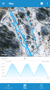 Ski Tracker Screenshot