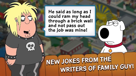 Family Guy: The Quest for Stuff MOD APK (Free Shopping) 2