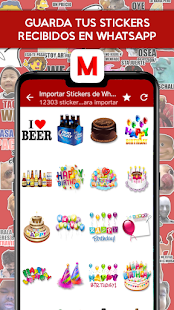 Stickers y sonidos (WAStickerApps) - Memetflix Screenshot